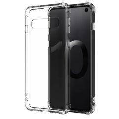 Huawei P30 Lite, Szilikon tok, Ütésálló (0.5mm), átlátszó