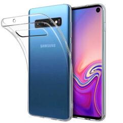 Samsung A202 Galaxy A20E, Szilikon tok, Ultra Slim, átlátszó