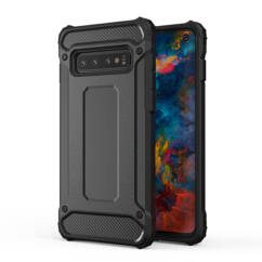 Samsung A105/M105 Galaxy A10/M10, Szilikon tok, Armor, fekete
