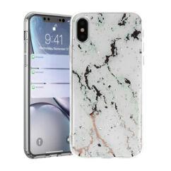 Apple iPhone 11 Pro Max, Szilikon tok, Marble Stone, 1
