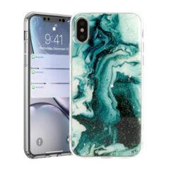 Apple iPhone 11 Pro Max, Szilikon tok, Marble Stone, 5