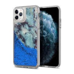 Apple iPhone 7/8/SE 2020, Szilikon tok, Liquid Marble, 2