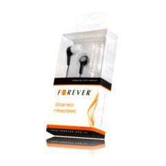 Headset, Forever MP3, MP4 (3,5mm), fekete
