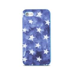Szilikon tok, Samsung J330 Galaxy J3 2017, Stars - kék