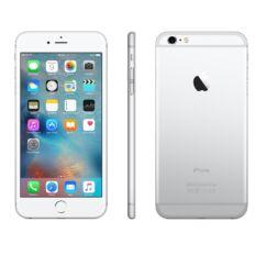 Mobiltelefon, Apple iPhone 6 16GB, Felújított, kártyafüggetlen, 1 év garancia, ezüst