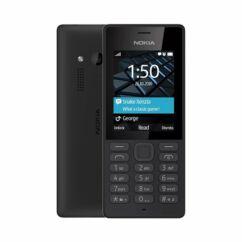 Nokia 150 DualSIM (Kártyafüggetlen 1 év garancia +Ajándék Domino Fix Kártyával), Mobiltelefon, fekete