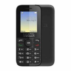Alcatel OT-1066G, Mobiltelefon, fekete