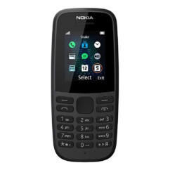 Nokia 105 2019 DualSIM, Mobiltelefon, fekete