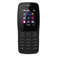 Nokia 110 2019 DualSIM, Mobiltelefon, fekete