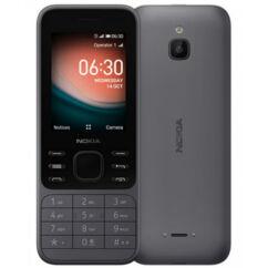 Nokia 6300 4G DualSIM, Mobiltelefon, fekete