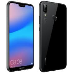 Huawei P20 Lite 64GB 4GB RAM SingleSim, (Kártyafüggetlen 1 év garancia), Mobiltelefon, fekete