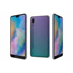 Huawei P20 4G LTE 64GB DualSIM, (Kártyafüggetlen 1+1 év garancia), Mobiltelefon, twilight
