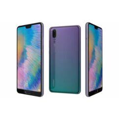Huawei P20 4G LTE 64GB DualSIM, (Kártyafüggetlen 1 év garancia), Mobiltelefon, twilight