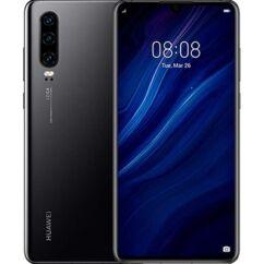 Huawei P30 128GB 6GB RAM DualSIM, (Kártyafüggetlen 1 év garancia), Mobiltelefon, fekete