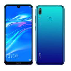 Huawei Y7 2019 32GB DualSIM, (Kártyafüggetlen 1 év garancia), Mobiltelefon, aurora kék