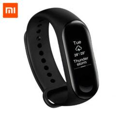 Xiaomi Mi Band 3, Okoskarkötő, fekete