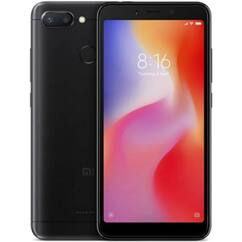 Xiaomi Redmi 6 64GB DualSIM, (Kártyafüggetlen 1 év garancia), Mobiltelefon, fekete