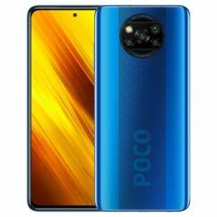 Xiaomi Poco X3 NFC 128GB 6GB RAM DualSIM, Mobiltelefon, kék