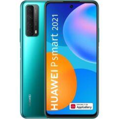 Huawei P Smart 2021 128GB 4GB RAM DualSIM, (Kártyafüggetlen 1 év garancia), Mobiltelefon, zöld