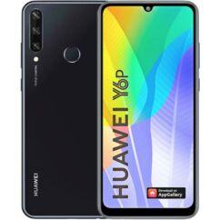Huawei Y6P 2020 64GB 3GB RAM DualSIM, Mobiltelefon, fekete