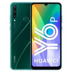 Huawei Y6P 2020 64GB 3GB RAM DualSIM, (Kártyafüggetlen 1 év garancia), Mobiltelefon, zöld