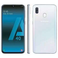 Samsung A405 Galaxy A40 64GB DualSIM, (Kártyafüggetlen 1 év garancia), Mobiltelefon, fehér