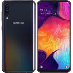 Samsung A505 Galaxy A50 64GB DualSIM, (Kártyafüggetlen 1 év garancia), Mobiltelefon, fekete