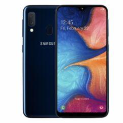 Samsung A202 Galaxy A20E 32GB DualSIM, (Kártyafüggetlen 1 év garancia), Mobiltelefon, kék