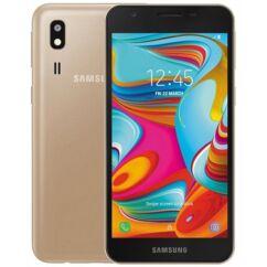 Samsung A260G Galaxy A2 Core 16GB DualSIM, (Kártyafüggetlen 1 év garancia), Mobiltelefon, arany