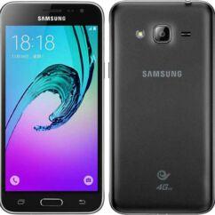 Mobiltelefon, Samsung J320 Galaxy J3 2016 DualSim 4G 8GB, fekete