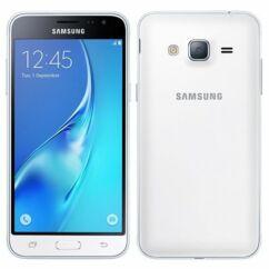 Mobiltelefon, Samsung J320F Galaxy J3 2016 DualSim 4G 8GB Kártyafüggetlen, 1+1 év garancia, fehér