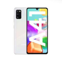 Samsung A415 Galaxy A41 64GB 4GB RAM DualSIM, (Kártyafüggetlen 1 év garancia), Mobiltelefon, fehér