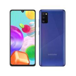 Samsung A415 Galaxy A41 64GB 4GB RAM DualSIM, (Kártyafüggetlen 1 év garancia), Mobiltelefon, kék
