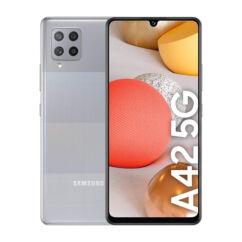 Samsung A426B Galaxy A42 5G 128GB 4GB RAM DualSIM, (Kártyafüggetlen 1 év garancia), Mobiltelefon, szürke