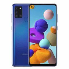 Samsung A217F Galaxy A21S 128GB 4GB RAM DualSIM, Mobiltelefon, kék