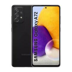 Samsung A725F Galaxy A72 128GB 6GB RAM DualSIM, (Kártyafüggetlen 1 év garancia), Mobiltelefon, fekete