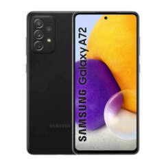 Samsung A725F Galaxy A72 128GB 6GB RAM DualSIM, Mobiltelefon, fekete