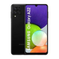 Samsung A225F Galaxy A22 4G 128GB 4GB RAM DualSIM, Mobiltelefon, fekete