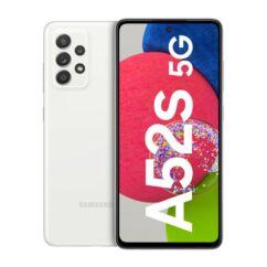 Samsung A528B Galaxy A52S 5G 128GB 6GB RAM DualSIM, Mobiltelefon, fehér