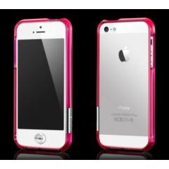 Apple iPhone 5/5S more, Védőkeret (bumper), rózsaszín
