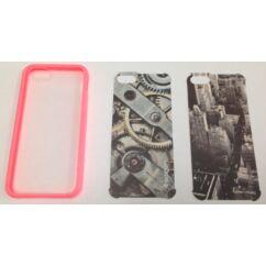 Apple iPhone 5/5S/SE/6C,Ultra Hybrid, Hátlap tok, barack