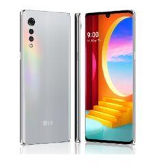 LG G910EM Velvet 4G 128GB 6GB RAM DualSIM, (Kártyafüggetlen 1 év garancia), Mobiltelefon, ezüst