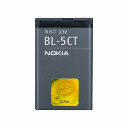 Akkumulátor, Nokia 6303, 6730, C3, C5, C6  1050mAh - BL-5CT