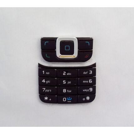 Nokia 6111 alsó-felső, Gombsor (billentyűzet), fekete