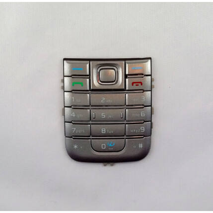 Nokia 6233, Gombsor (billentyűzet), ezüst