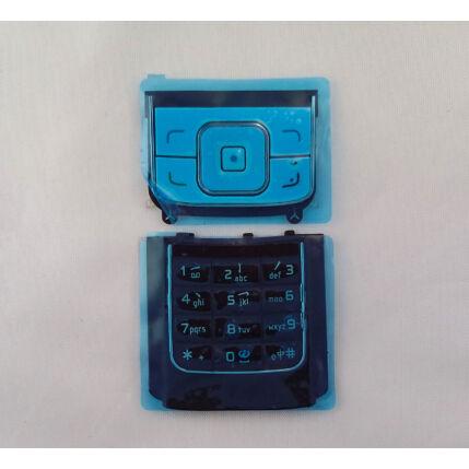 Nokia 6288 alsó+felső, Gombsor (billentyűzet), fehér