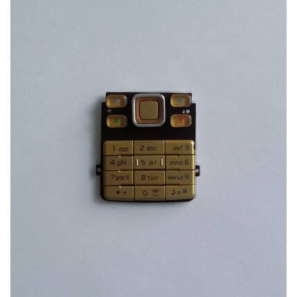 Nokia 6300, Gombsor (billentyűzet), arany