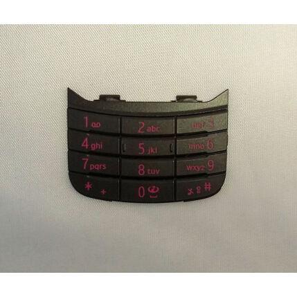 Nokia 6600 Slide alsó, Gombsor (billentyűzet), fekete-magenta