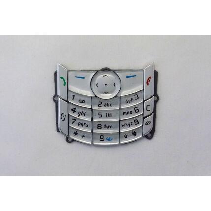 Nokia 6680, Gombsor (billentyűzet), ezüst
