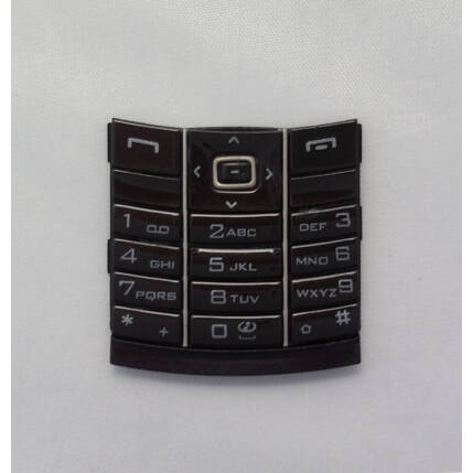 Nokia 8800, Gombsor (billentyűzet), fekete